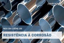 Resistência à corrosão - Inox 304 versus