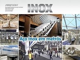 Aço inox em metrôs