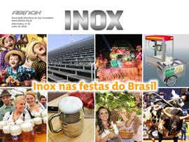 Inox nas festas do Brasil