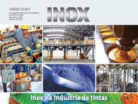 Inox na indústria de tintas