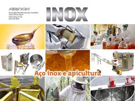 Aço inox e apicultura