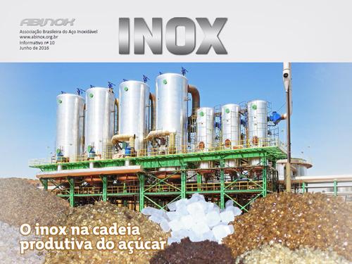 O Inox na cadeia produtiva do açúcar
