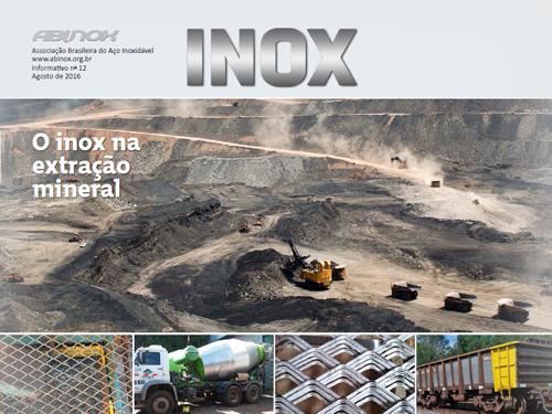 O Inox na Extração Mineral