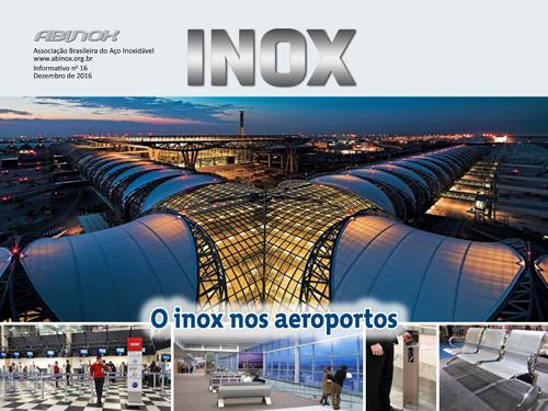 O inox nos aeroportos