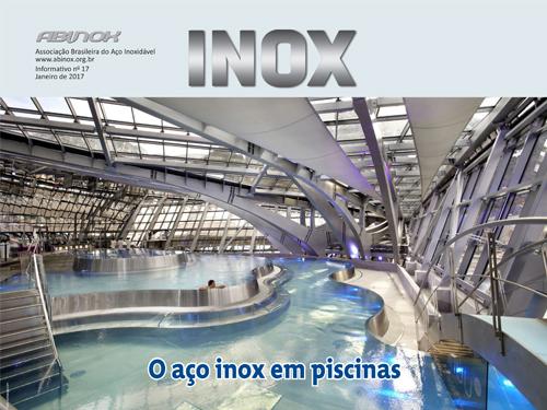 Piscinas com inox