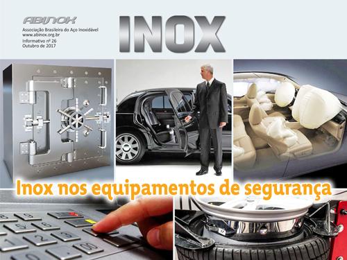 Inox nos equipamentos de segurança