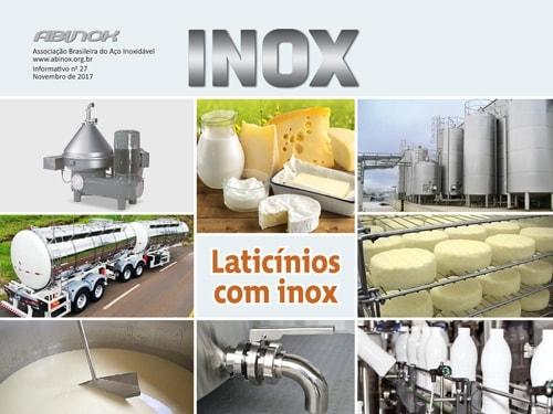 Laticínios com inox