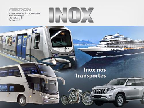 Inox nos transportes