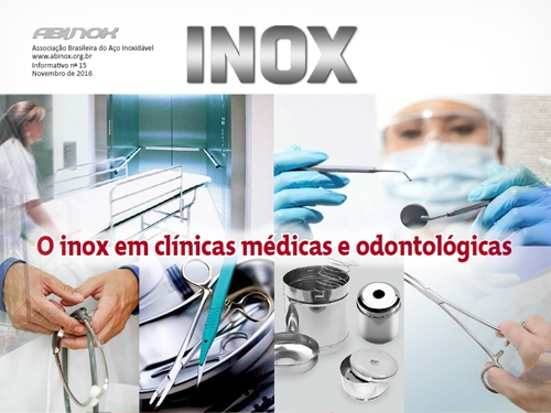O inox em clínicas médicas e odontológicas