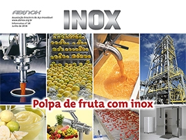 Polpa de fruta com inox