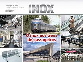 O inox nos trens de passageiros