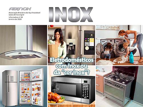 """Eletrodomésticos com inox ou da """"cor inox""""?"""
