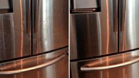 Receita infalível para limpar as impressões digitais e outras sujidades do aço inoxidável