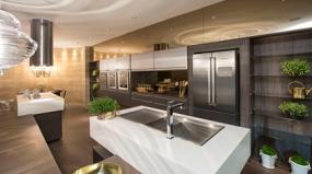 Conheça a primeira cozinha planejada com portas em aço inox do Brasil!