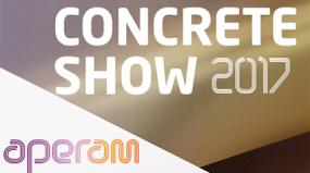 A Aperam, associada à ABINOX, apresenta na Concrete Show, a betoneira de inox após 1 ano de uso