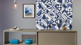 Revestimentos chegam às salas e quartos como protagonistas da decoração