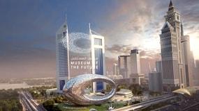 Dubai tem um novo museu que está se transformando em um dos edifícios mais avançados do mundo