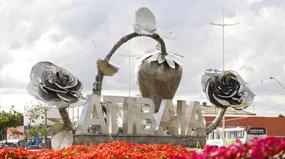 Escultura com inox em Atibaia
