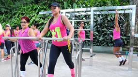 Camorim recebe primeira academia ao ar livre em aço inox