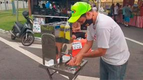 Pias em Inox reforçam higiene nas feiras de Santos