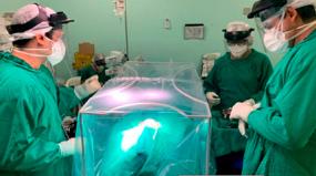 Covid-19: Hospital universitário desenvolve equipamento de proteção em Aço Inox