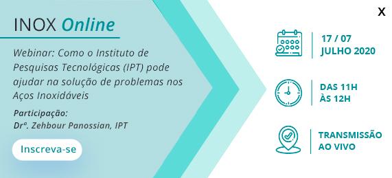 INOX Online - Como o Instituto de Pesquisas Tecnológicas (IPT) pode ajudar na solução de problemas nos Aços Inoxidáveis